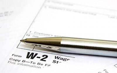 Form W-2 in St Petersburg Florida