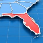 Hurricane Irma in St Petersburg Florida