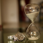 Tax Deadline Extended Hourglass